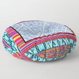 Peruvian Fabric Floor Pillow