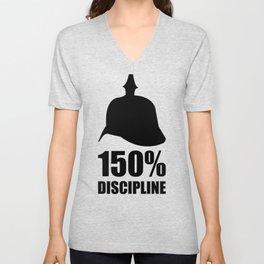 Prussia 150% discipline Unisex V-Neck