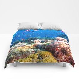 Coral Sea Photo Print Comforters