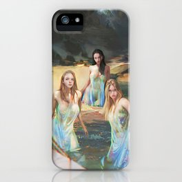 "Sirens (""Charm of of the Ancient Enchantress"" Series) iPhone Case"