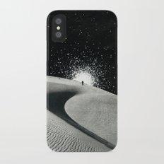 Un tizio che non ha capito che quelle luci non sono un buon segno Slim Case iPhone X
