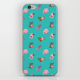 Animals Revenge iPhone Skin