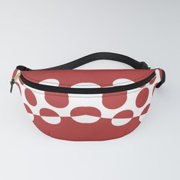CVPA20031 Red Afternoon Bubbles Fanny Pack
