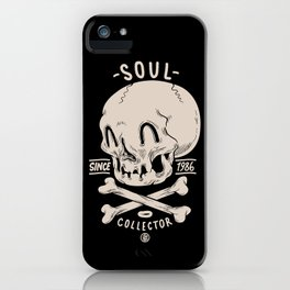 Soul Collector iPhone Case