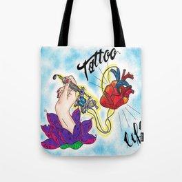 Tattoo Love Tote Bag