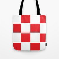 formula 1 Tote Bags featuring FORMULA 1 by Michelito