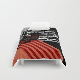 CMYK Triptych - Magenta Comforters