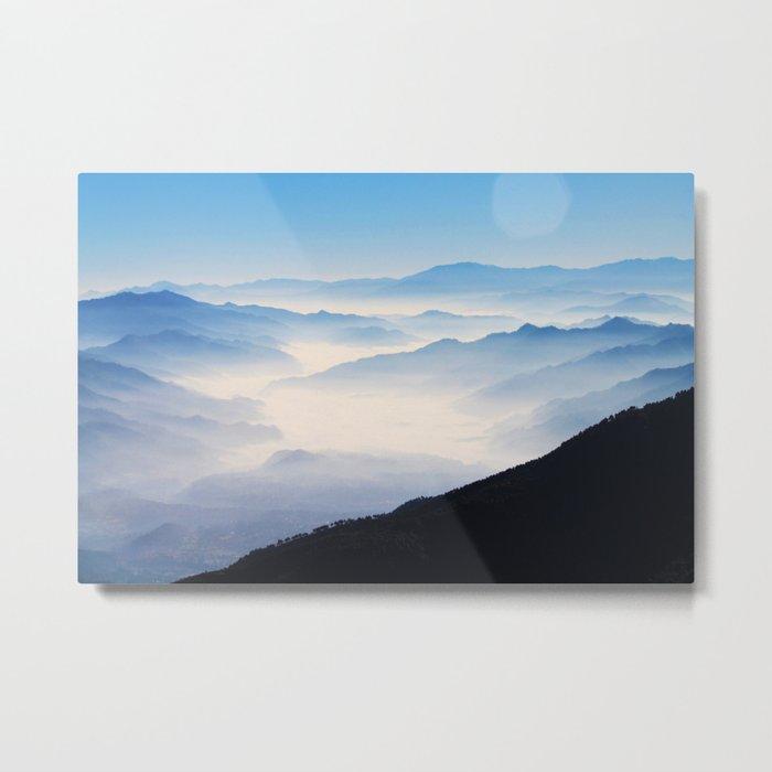 Inhale Metal Print