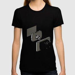 Computer catode monitor T-shirt