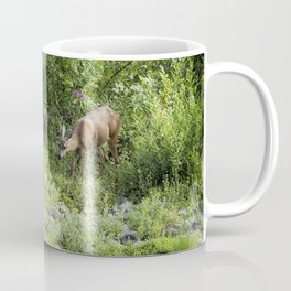 Young Doe Among the Flora, No. 2 Coffee Mug