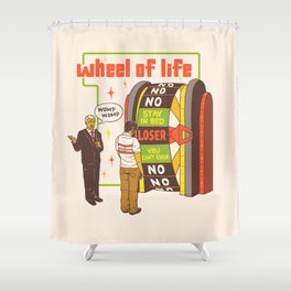Wheel Of Life Shower Curtain