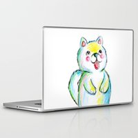 puppy Laptop & iPad Skins featuring Puppy by Suvi Kari