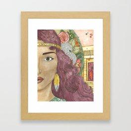 Hannah Framed Art Print