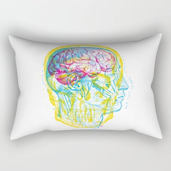 Anatomy Skull Rectangular Pillow