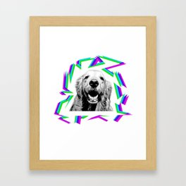 GOLDEN RETRIEVER Framed Art Print
