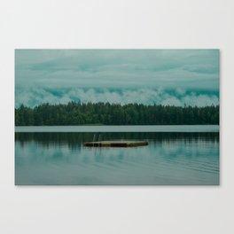 Scandinavian Lake Canvas Print