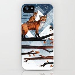 Fox Wood iPhone Case