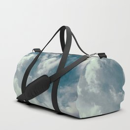Soft Dreamy Cloudy Sky Duffle Bag