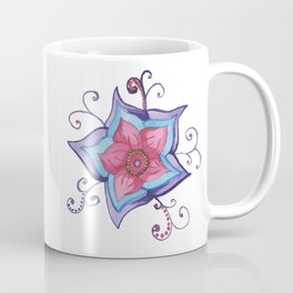 Watercolor Whimsy Flower Coffee Mug