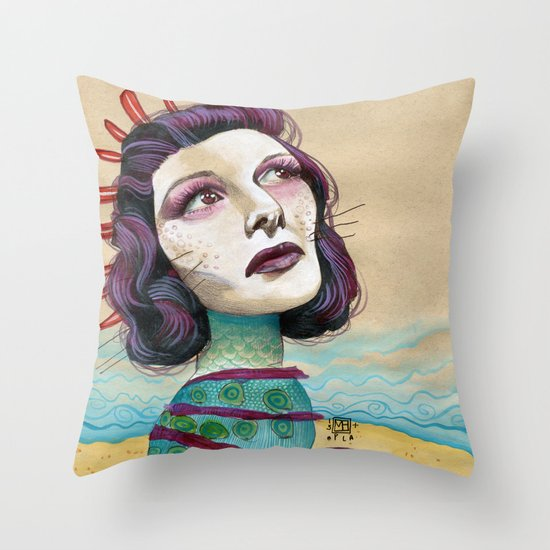 SHORE Throw Pillow