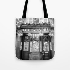 The Grapes Pub London Tote Bag