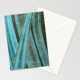 No Exit Abstract Design Stationery Cards