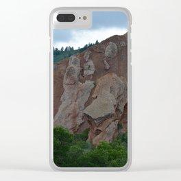 Rock Formation, Roxborugh State Park, Colorado Clear iPhone Case