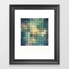 Polaroid Pixels III (Chain) Framed Art Print