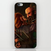 nori iPhone & iPod Skins featuring Axes and Knives by Hattie Hedgehog