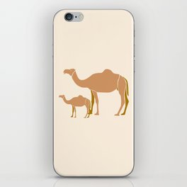 Camel Mother #draw #society6 #animal iPhone Skin