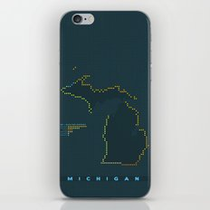 MDOT - Michigan Land & Maritime Borders iPhone & iPod Skin