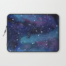 Galaxy Space Painting Stars Cosmic Universe Nebula Art Laptop Sleeve