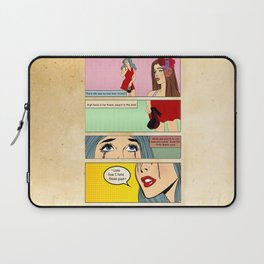 Retro Comic Laptop Sleeve