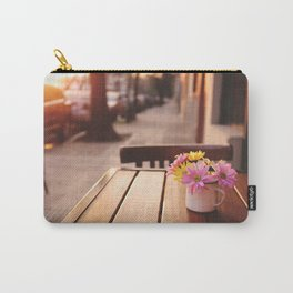 Flowers in the street Carry-All Pouch