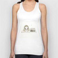 cage Tank Tops featuring Cage by Judith Loske