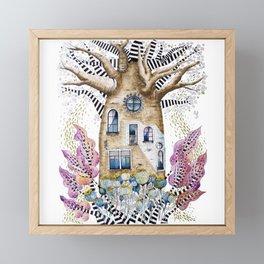 Teapot Baobab of my dreams Framed Mini Art Print