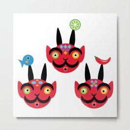 the little devils Metal Print