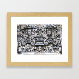 Guards Of The Tomb Framed Art Print