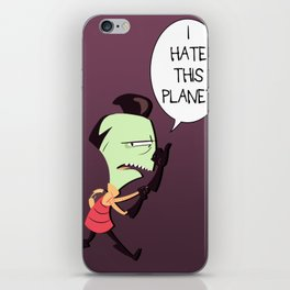 I HATE THIS PLANET iPhone Skin