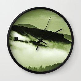 Mystical fog Wall Clock