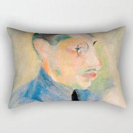 Igor Stravinsky (1882 – 1971) by Robert Delaunay in 1918 Rectangular Pillow
