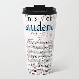 Violin student Travel Mug