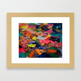 A Color Above It Framed Art Print