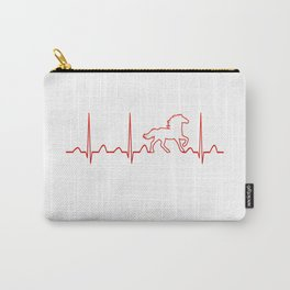 HORSE HEARTBEAT Carry-All Pouch