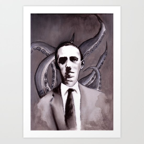 Shuddering At The Nameless Things Art Print