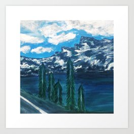 """Top of The Mountain"" Art Print"