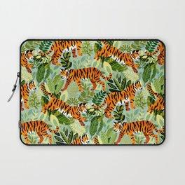 Bright Bengal Tiger Jungle Laptop Sleeve