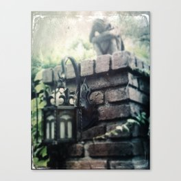 Haunted Mansion Angel Grief by Topher Adam 2017 Canvas Print