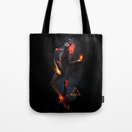 Fire Witch - Elements Collection Tote Bag