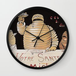 Vintage poster - Michelin Wall Clock